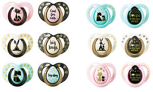 Baby-Soother-Dummy-Pacifier-Nipple-Tommee-Tippee-0-6m-6-18m-2-Pack