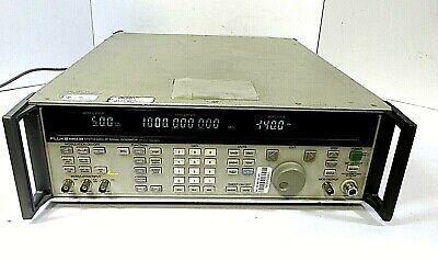 Fluke 6080aan Rf Synthesized Rf Signal Generator 500 Khz - 1024 Mhz