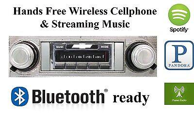 '64 Chevelle Malibu AM FM Bluetooth New Stereo Radio iPod USB Aux in, 300 watts