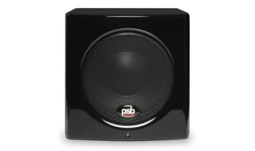 "PSB Speakers 5-1/4"" 100W Powered Subwoofer Gloss Black SUBSERIES 100"