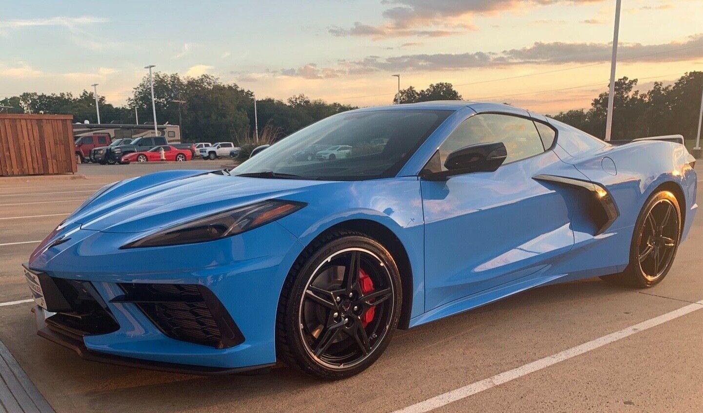2020 Rapid Blue Chevrolet Corvette   | C7 Corvette Photo 1