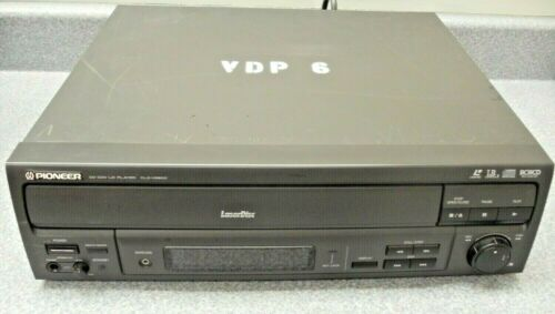 Pioneer CLD-V2600 Laser Disc CD Player Jog Dial No Remote