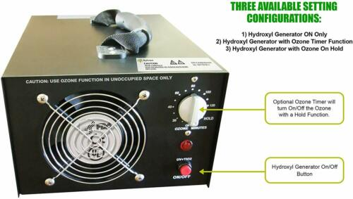 Hydroxyl Generator Commercial Home Office Optional Ozone Machine Sylvan HX-3000