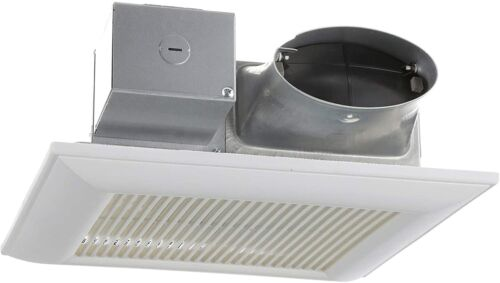 Panasonic Fan with ECM motor and Pick-A-Flow 80 or 100 CFM Built-in Multi-Speed
