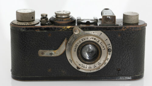 Leica 1 Model A Camera + 50mm Elmar f/3.5 Lens