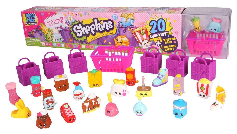 New Shopkins Season 2 Mega Pack 20 Shopkins
