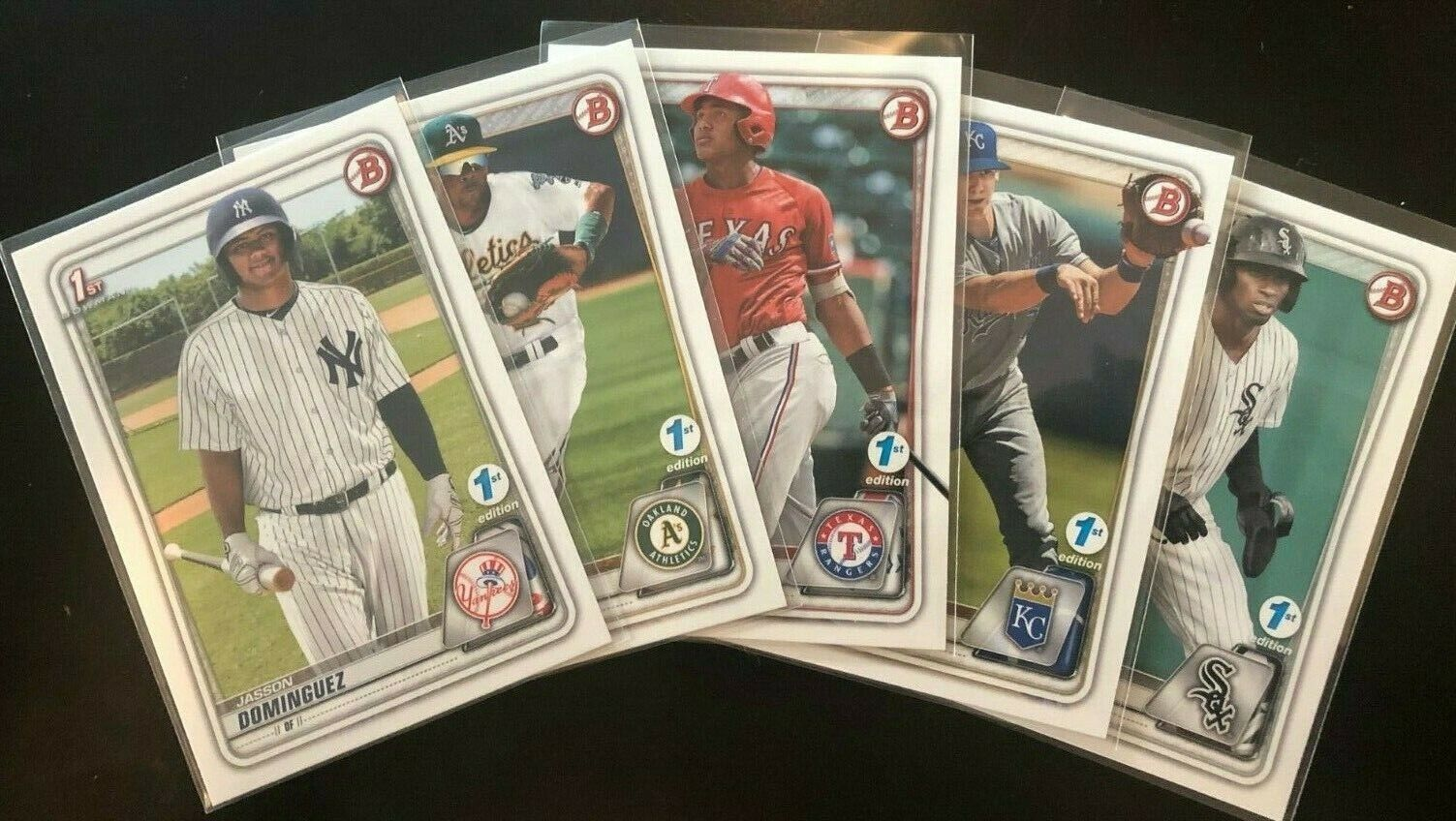 2020 Bowman 1st Edition Single Cards - Complete Your Set - Y