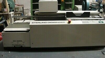 Sterling Digibinder Automatic Perfect Binder Video Link In Description