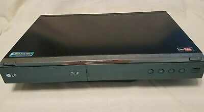 LG BD390 Blu-ray Disc Player with Remote HDMI Tested Working WiFi