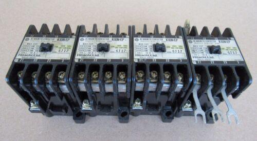 4 PCS HITACHI AC MAGNETIC CONTACTOR  K10N-EP