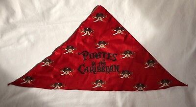 Disney Pirates in the Caribbean Bandana Mickey Mouse Pirate Scarf Costume Pet - Mickey Mouse Pirate Costume