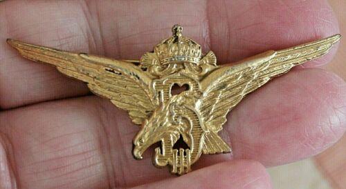 ORIGINAL BULGARIA PILOT BADGE (1935-45) GOLD PLATED BRONZE C1763A