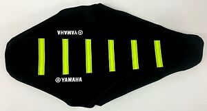 New NEON YELLOW YAMAHA Ribbed Seat cover YZ250F YZ450F 2014-2017