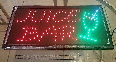 Juice Bar Led Sign -
