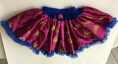Disney Collection by Tutu Couture Blue Tulle Pink Satin Gold Crowns Sz - Tutu Couture Kostüm
