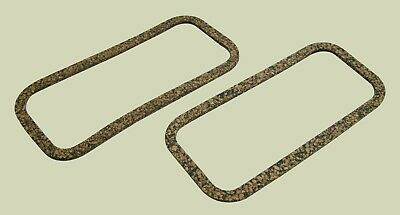 MORRIS MINOR 1000 ENGINE TAPPET CHEST, SIDE COVER CORK GASKETS x 2 (12A1139) AD5