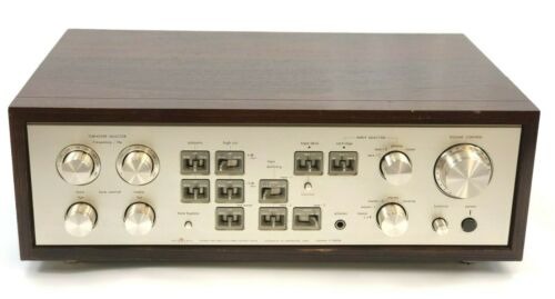 Rare Vintage Luxman C-5000A Solid State Preamplifier Beautiful Working Example!