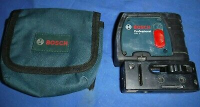 Bosch GPL3 3 Point Self Leveling Alignment Laser Level w/ soft case