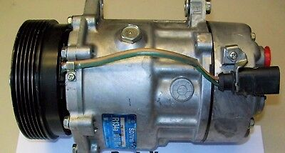 VOLKSWAGEN BEETLE GOLF JETTA A/C COMPRESSOR 99 00 01 02 03 04 05 ALL 4 CYLDR AC