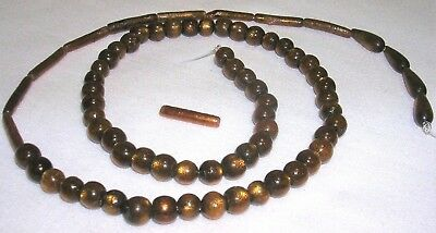 73 PIECES ASSORTED GOLD CORAL GEMSTONE BEADS ROUND TEARDROP TUBE SHAPES