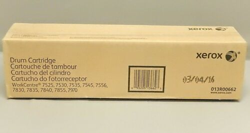 Xerox 013R00662 Drum Cartridge WorkCentre 7525 Genuine New Sealed Box