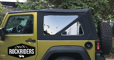 - 07-18 Jeep Wrangler JK 2 Door Replacement Tinted Windows & Soft Top Special Buy!