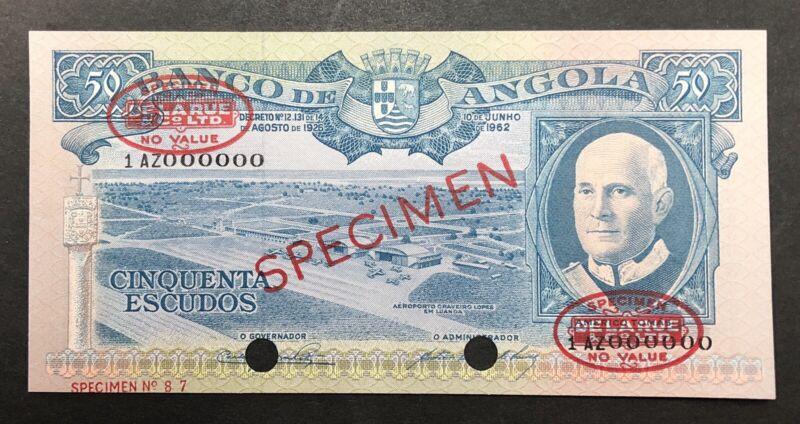 Angola Banknote Specimen P93. UNC