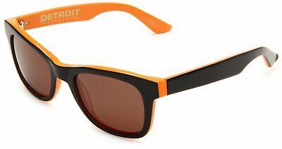 Electric Visual Detroit Sunglasses Hemi-Orange Frame Bronze Lenses ES08237402 Electric Gold Lens