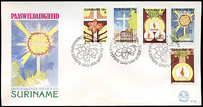 Suriname 1984 Easter FDC First Day Cover #C30260
