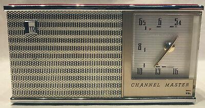 Transistorradio Channel Master, Top-Zustand, spielt einwandfrei, mit Zubehör! Channel Master Mast