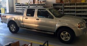 2002 Nissan Frontier SE Crew Cab 4x4 Long Box 3.3L V6 New Tires