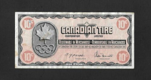 1976 Canadian Tire 10 Cents CTC S05-C-LN  Store Coupon Olympic