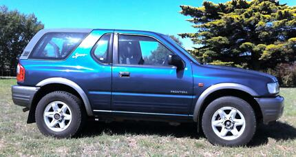2000 Holden Frontera Wagon Campbell Town Northern Midlands Preview