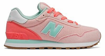 New Balance Kid's 515 Big Kids Female Shoes Peach Soda with Tahitian Pink & Bali