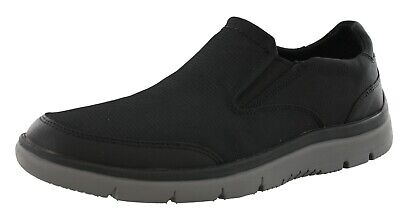 CLARKS MEN'S TUNSIL STEP WIDE WIDTH SLIP ON WALKING SHOES Clarks Wide Shoes