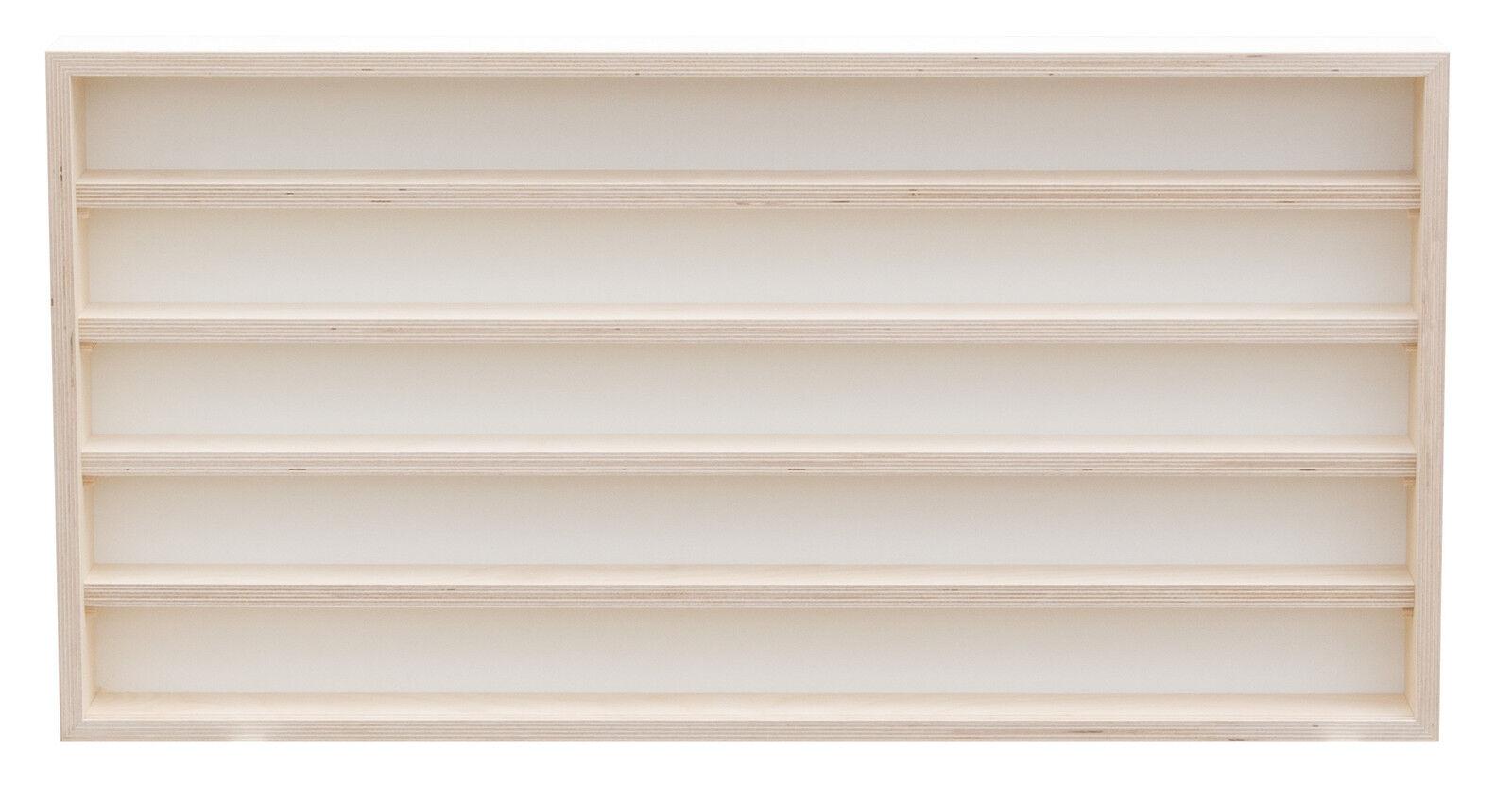 pihami sammler vitrine 5he spur h0 n m rklin regal 70 cm birke natur eur 77 99 picclick de. Black Bedroom Furniture Sets. Home Design Ideas