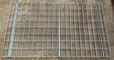36 Deep Wire Mesh Deck Panels For Pallet Rack