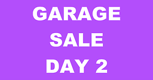 ***GARAGE SALE DAY 2*** FROM 8AM SUNDAY Oakden Port Adelaide Area Preview