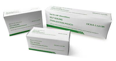 TATTOO Autoclave Sterilisation Pouches BOX 200 - Choose Your Size!