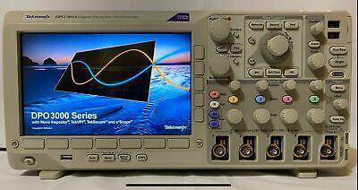 Tektronix Dpo3014 100 Mhz 2.5gss 4 Channel Digital Phosphor Oscilloscope