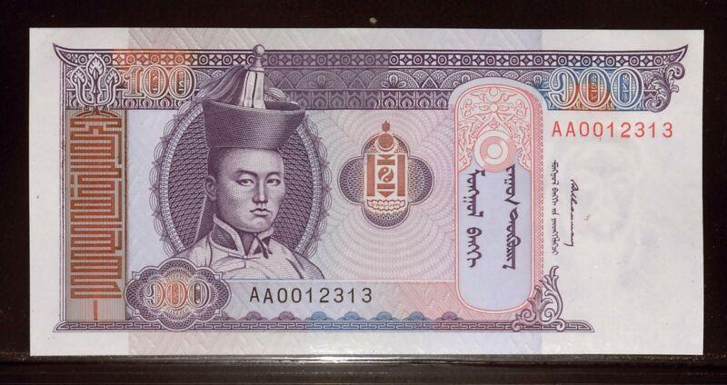 Mongolia 1993 100 Tugrik UNC | Soemba (Bank11229)