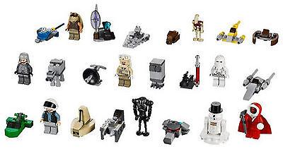 Genuine Lego Star Wars Minifigure 9509 Advent Calendar 2012 Choose One