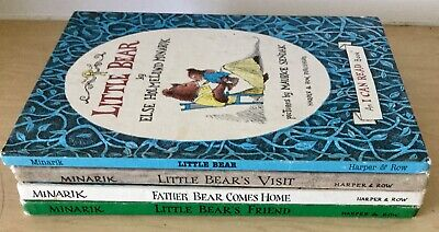 LITTLE BEAR (4) Vintage hardbacks Else Holmelund Minarik ~ I CAN READ