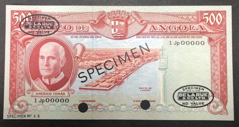 Angola Banknote Specimen P95
