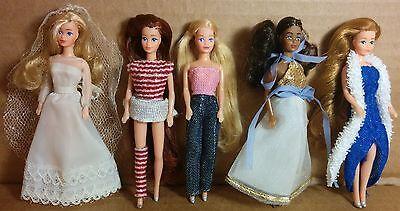 Mattel Dazzle Glamour Gals Clones Mini Tiny Small Barbie Nasta Fashion Doll Lot