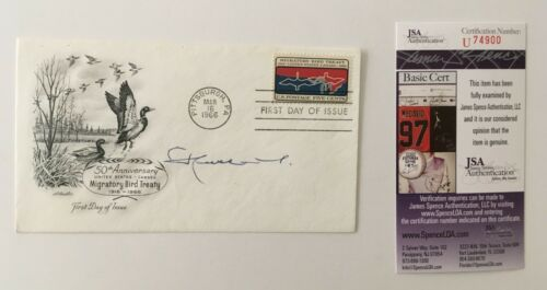 King Hussein of Jordan Signed Autographed First Day Cover JSA Certified