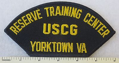 US COAST GUARD USCG RESERVE TRAINING CENTER YORKTOWN VA VIRGINIA CAP (Us Coast Guard Training Center Yorktown Va)