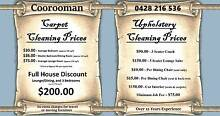 Coorooman Carpet Cleaning (Central QLD Coast) Cawarral Rockhampton Surrounds Preview