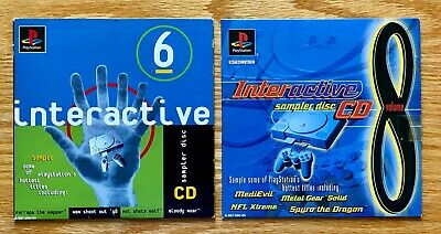 PlayStation 1 PS1 Interactive Sampler Demo CD Disc Lot: Spryo, Metal Gear, NBA