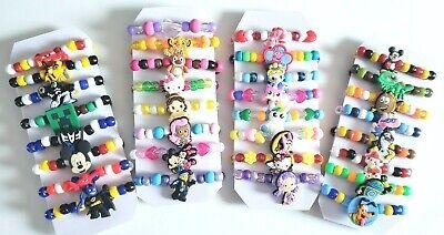 Toddler Bracelet 8 pack Gift set Boys or Girls Styles Stretchy bracelets NEW - Toddler Jewelry
